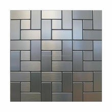 hairline stainless steel mosaic tile--stainless steel tile