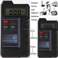 Portable Digital With Alarm Electromagnetic Radiation Detector