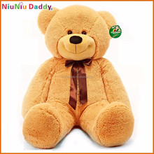 2015 new custom best made plush bear dog stuffed animal toy