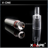 2015 ceramic donut wax attachment ,wax pen with original glass and steel battery tube