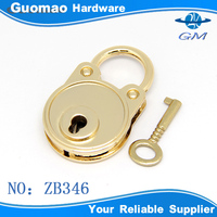 Decorative practical locks with keys for metal boxes