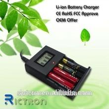 rictron nuevo diseño cargador de batería universal rc996
