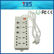 american companies looking for distributors power outlet hotel wall lamp 2500w outlets 6 usb ports charing