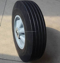 """top quality lower price 10""""x2.5"""" solid rubber wheel for hand truck"""