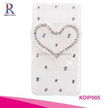 Luxury Plastic Hard Cover Bling Star Diamond Rhinestone phone Case