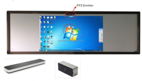 Save 60% portable interactive whiteboard for school ,convert any plane into touchable smartboard