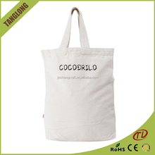 New Arrival recyclable houlder bags Promotion plain eco cotton sling bag