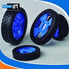 wheels Rubber wheels 47*21mm 47*12 mm 70*12 mm 70*21 mm technological car high Quality tires model 5 pcs/lot