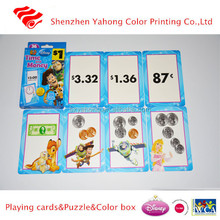 Shenzhen Factory supply funny memory game card