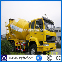 cheap small 3 cubic meters concrete mixer truck parts