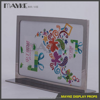 Best Price Factory supply Acrylic new arrival Sign holder,/POP display Acrylic / POP display