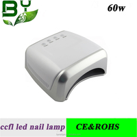 2016 latest products in market 60w ccfl uv lamp light fan nail dryer for nails led light