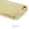 100% perfect fit gold plated for iPhone 5s housing with diamond