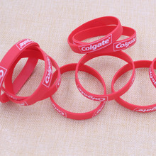 Buy direct from china gym sport silicone bracelet for boys