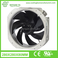 Aluminum Housing Steel Impeller With High Speed Generator Cooling Fan