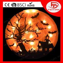 ce new design lighting halloween lights with pumpkin new style led pvc light