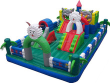 Top sale bouncer trampoline inflatable castle for kids play