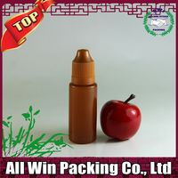 hot sale manufacture pe liquid thc e cigarette bottle with childproof cap for vapor e juice