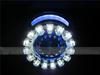 35w 3.0 inch Car Headlight Lens Hid Bi-xenon Projector Lens H1 Bulb led Motorcycle Headlight with double angel eyes