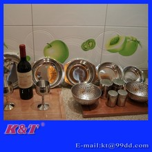 Fashion stainless steel cruet set
