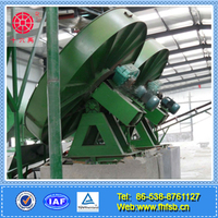 Fertilizer granulating disc/ disc granulator for fertilizer