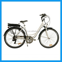 EN 15194 aluminium frame city electric bike
