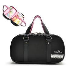 Multi-functional Black Totes Cosmetic Bag Toiletry Organizer Bag Travel Storage Bag