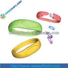 custom usb hand band usb flash drive