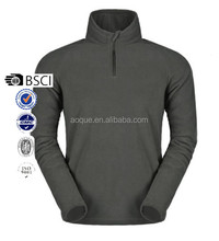 Hot sale Polar fleece pullover 1/4 half zip jacket Customized own logo sportswear garment OEM style our own ropa factory Sportex