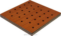 modern decorative wooden fireproof building material