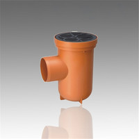 Hot sell PVC Pipe and Fittings UPVC Fitting PVC Drainage Fitting DIN 110*75*50 PVC Floor drain