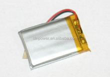 high capacity li-polymer battery 3.7v600mah li-ion battery