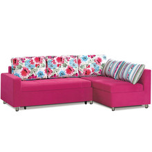 Modern Home Furniture L Shape Sofa Cum Bed With Storage folding sofa bed