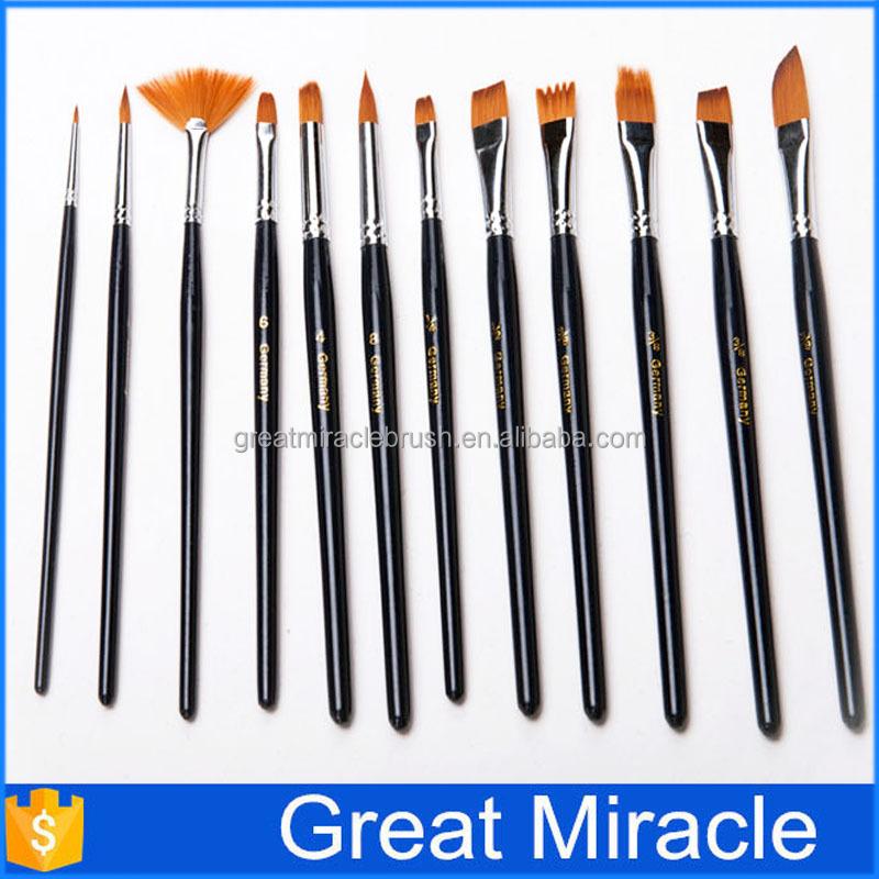 Wholesale artist paint brush set mask brush buy paint for Wholesale craft paint brushes