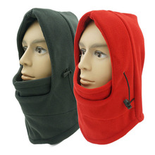 12 Color 2014 Winter Men/Women Motorcycle Bike Thermal Fleece Balaclava Hood Police Swat Ski Wind Stopper Face Mask