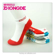OEM cheap knitting nylon ankle socks
