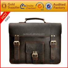 Alibaba italian mens leather messenger bag laptop briefcase 19 inch laptop bag