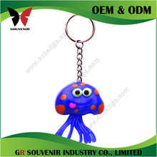 Promotional metal keychain cell phone holder