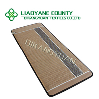 healthy life FIR far infared ray & negative ions heating amethyst mat thermal massage bed CE FDA