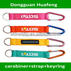 High quality keychain carabiner with lanyard