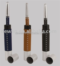 Executive leather pen set with stitches (popular) WITH PEN TUBE