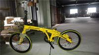 hot sale 21 speed high quality 20inch wheel pocket bicycle alloy 6061 folding bike LB01