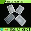 Plástico descartável biscuit / biscoito / lanche recipiente de embalagem