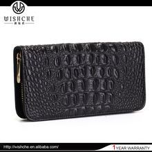 Wishche 2016 Hot Selling Pretty Fashionable Wallets Ladies Custom Made Women Wallets Genuine Leather Wallets Made in China W5001