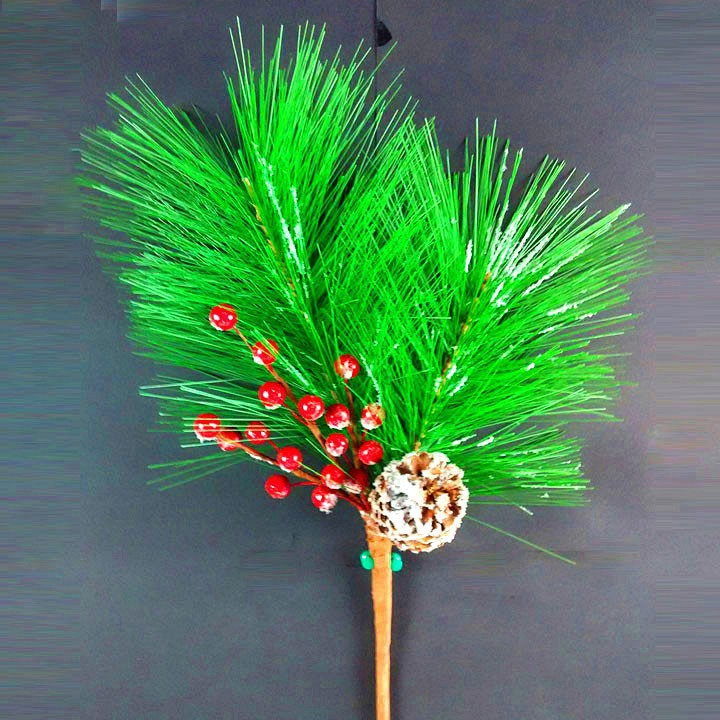Christmas pe artificial pine tree branches for