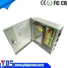 alibaba express hot sale AC/DC ce rohs appproved single output 12v cctv power box