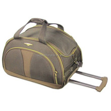 Hot sale Fashion 1200D Trolley Bag travel luggage bag with wheels