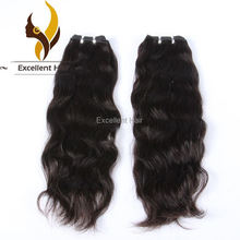 Excellent Hair Best Quality Wavy Wet 100% Human Virgin Peruvian Remy Hair Weave