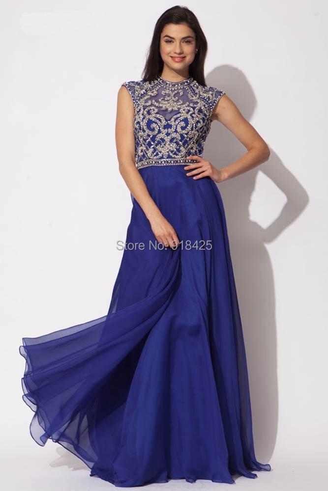 Encantador Reales Vestidos De Dama De Gasa Azul Bandera - Ideas para ...