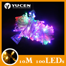 Wholesale - 110v/220V christmas led string light,100leds/10m LED String fairy christmas led lights